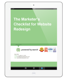 Marketer's Checklist for Website Redesign