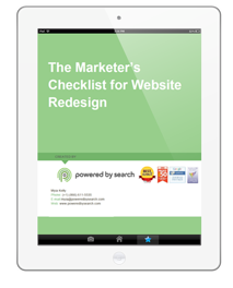 Marketer's Checklist for Website Redesign