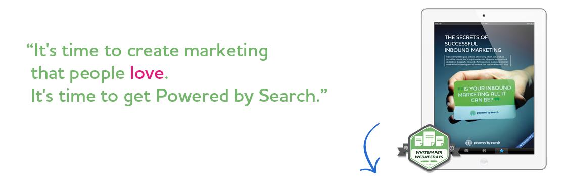 The Secrets of Successful Inbound Marketing header.